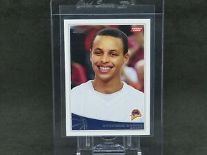 2009-10 TOPPS STEPHEN CURRY ROOKIE RC #321 GOLDEN STATE WARRIORS EB