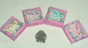 Miniature Dollhouse Figurine Store Display Girls TOY BOX Pony Unicorn Animal JS
