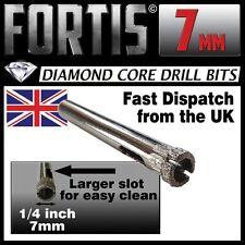 7mm Diamond Holesaw Tile, Ceramic, Glass, Porcelain, Marble, Slate ... drill bit