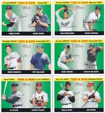 2004 TOPPS HERITAGE THEN & NOW COMPLETE SIX CARD SET