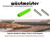 "RUGER 10/22 ""GREEN HORNET"" HC-V BUFFER + TRIGGER GROUP PINS"