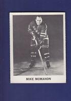 Mike McMahon 1965-66 Coca-Cola Coke Cards Hockey (EX) New York Rangers