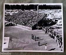 Vintage PHOTO RACE CAR WINSTON DRAG RACING Coca Cola Sign car auto fan stand USA
