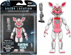 """Funko Five Nights at Freddy's Funtime Foxy Articulated Action Figure, 5"""""""
