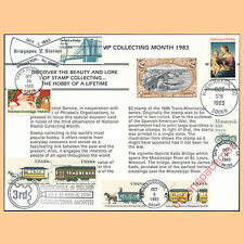 PS48 National Stamp Collecting Month '83 USPS Souvenir Card FD Cxls 2059-62 2063
