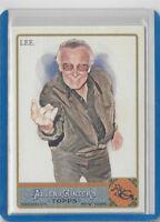 """Stan Lee 2011 Topps Allen & Ginter """"Web-Slinger"""" #274 Marvel Card Spider-Man"""