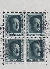 DR Block 11 mit 2x SST Nürnberg Reichsparteitag 13.09.1937, Deutsches Reich