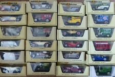 Matchbox Models of Yesteryear Vintage Cars - Many Types Available & MIB REDUCED!