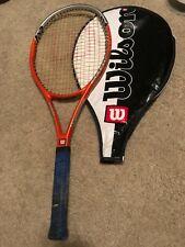 Wilson Hyper Hammer 5.2 Oversize  Tennis Racket, Grip 95 Sq In With Bag