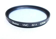 52mm Vivitar (Tiffen) VMC 82A Filter - Multi-Coated - Mild Cooling CC - NEW