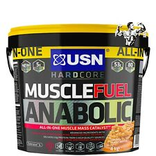 USN Muscle Fuel Anabolic Chocolate Shake Powder - 4kg