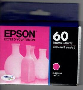 GENUINE Epson 60 Magenta Ink Cartridge - SEALED