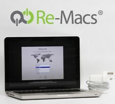 "13"" Apple MacBook Pro 2.8GHz i7 8GB RAM 750GB HDD A1278 Late 2011 8057"