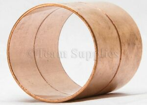 35mm End Feed Copper Straight Coupling Coupler