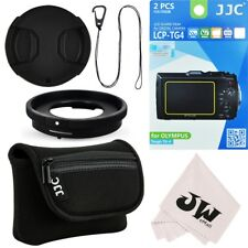 6in1 Lens Adapter+Camera Pouch+Screen Protector for Olympus TG-6 TG-5 TG-4 TG-3