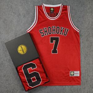 Slam Dunk Sakuragi No10 Basketball Costume SHOHOKU Jersey vest Cosplay