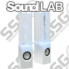 SoundLab Water Dancing Fountain USB Music Ipad Iphone PC Mobile Phone Speakers