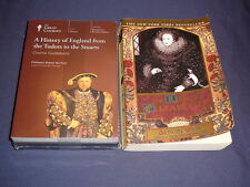 Teaching Co Great Courses DVDs   HISTORY of ENGLAND from TUDORS STUARTS  + bonus