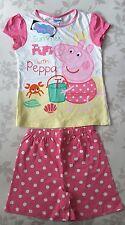 Girls Peppa Pig Pyjamas 4-5 years BNWT Summer sleepwear