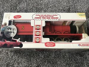 RARE 1994 Lionel G Scale James The Red Engine Thomas Friends Loco Suit Bachmann