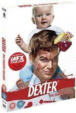 DEXTER SEASON SERIES FOUR 4 DISC BOX SET SHOWTIME UK REGION 2 2010 DVD L NEW