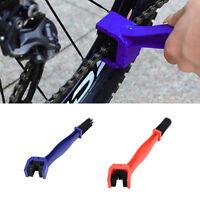 Neu Motorrad Fahrrad Kette Reiniger Werkzeug Reinigung Schrubber Werkzeug P/D