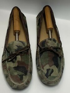 Cole Haan Grant Driving Moc Suede Camouflage Loafer Men's Shoes Size 13D