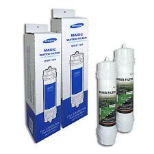 2 x Véritable Filtre Réfrigérateur Samsung WSF-100 magique FILTRE À EAU