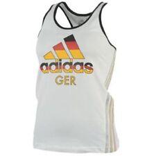 adidas 3 Stripe Ladies Size 8 London Olympics 2012 Germany Tank Vest Top