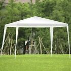 Party Wedding Tent Outdoor Canopy White Gazebo 10 x 10 ft Waterproof Patio Event