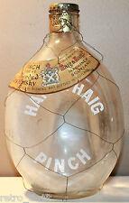 "Haig & Haig Whisky Pinch Empty Bottle 26.5 fl oz Scotland Kork-N-Seal Lid 8"""