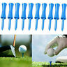 Plastic Castle Golf Tees   Blue Colours    One Sizes 68mm  10Pcs New Fast Gift G