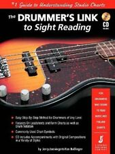 """The Drummer'S Link To Sight Reading"" Music Book/Cd-Brand New On Sale-Method!"