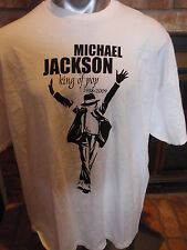MICHAEL JACKSON R.I.P TEE SHIRT-KING OF POP (1958-2009) 2 XL-NEW WITH TAGS