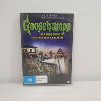 Goosebumps Season 4 The Final Freaky Season Rare DVD Region 4, Oop, R.L Stine