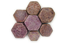 1 lb Wholesale Natural Red Ruby Rough Hexigonal Stones - Specimen, Cabbing Rocks
