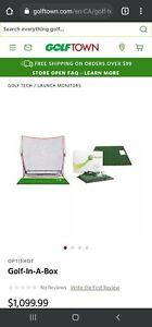 Optishot 2 - Golf-In-A-Box - Golf Simulator