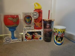 Wonder Woman Drinking Vessel Bundle!