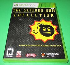 Serious Sam Collection Microsoft Xbox 360 *Factory Sealed! *Free Shipping!