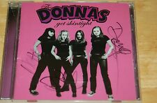 Donnas - Get Skintight (autographed cd)