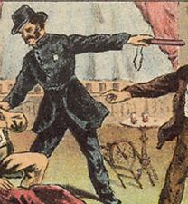 Vaudeville ALVIN JOSLIN Bühne Mord Handels Karte, nun zum Verkauf & Free Ship TC1912