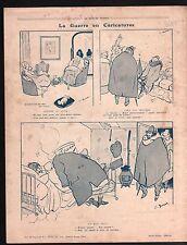 WWI Caricature Guerre Luxe Raffinée/Poudrerie Massy-Palaiseau  1917 ILLUSTRATION