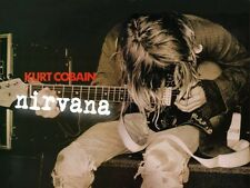 POSTER NIRVANA KURT COBAIN CD DVD LIVE MTV CONCERTO #1