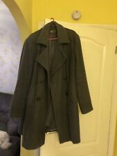 Ladies Grey wool Coat Size 20