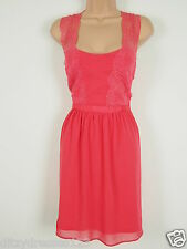 BNWT Love Label Coral Eyelace Lace Special Occasion Dress Size 18