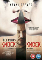 Knock Knock DVD (2015) Keanu Reeves, Roth (DIR) cert 18 ***NEW*** Amazing Value
