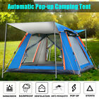 Outdoor Camping Waterproof 6 Person Folding Tent Camouflage Hiking Family Travel