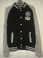 Mens Jacket - Blue Inc - Los Angeles Compton Kings - Black & Grey - Size M