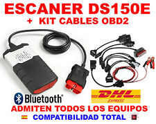 DIAGNOSIS 2015R3 BLUETOOTH OBD2 ECU VCI +KIT 8 CABLES OBD ESCANER COCHE CAMION