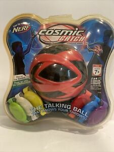 NERF Cosmic Catch The Talking Ball Electronic Game Red Black 42790 Hasbro New